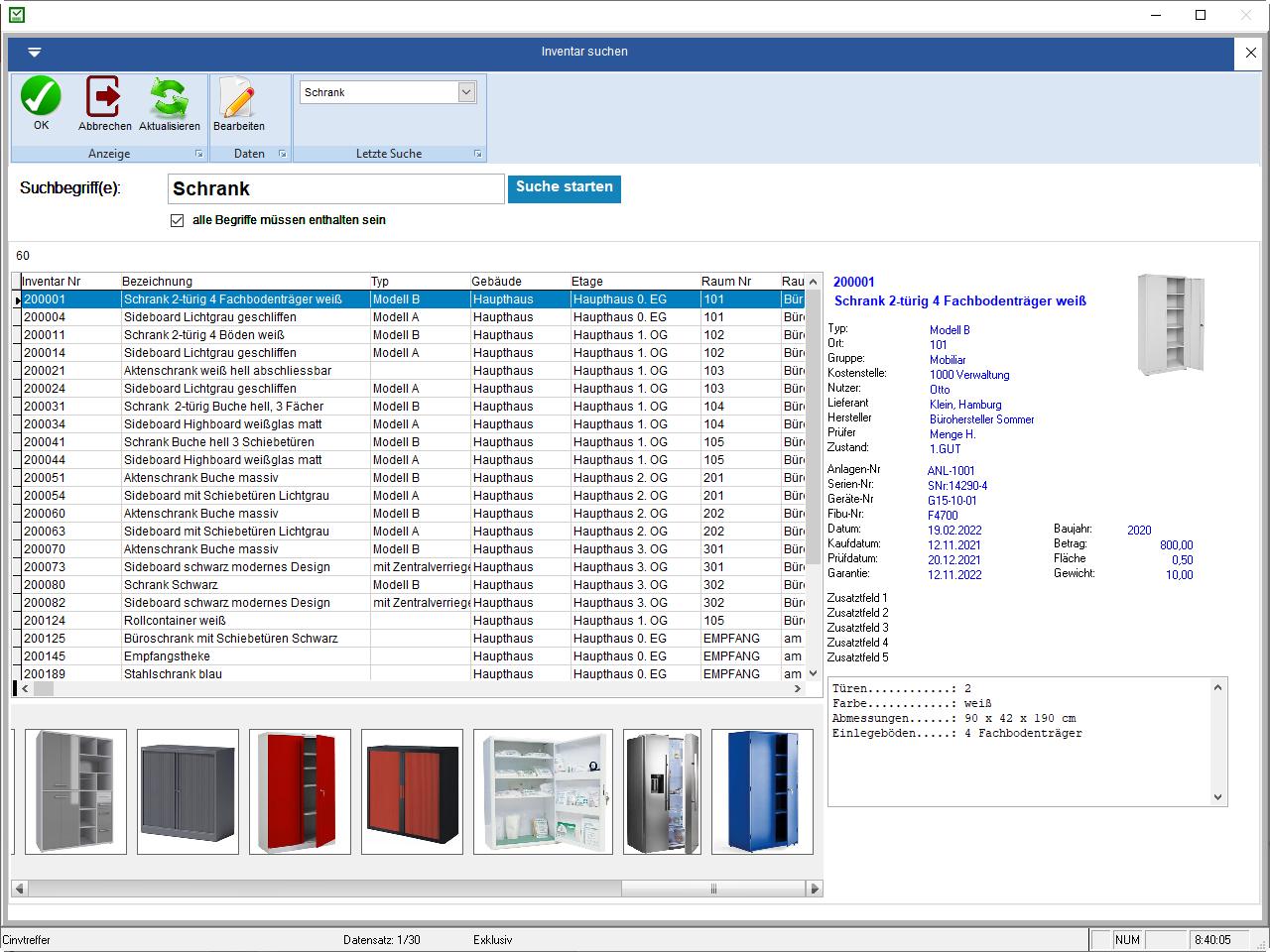 Schnelleinstieg Inventarsoftware. Inventarisierung leicht gemacht ...
